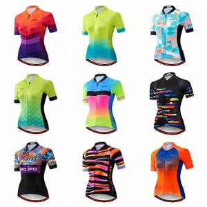 JPOJPO Summer Cycling Jersey Women 2020 Pro Team Bicycle Clothing Maillot Ciclismo Quick Dry MTB Bike Jersey Top Cycling Shirt