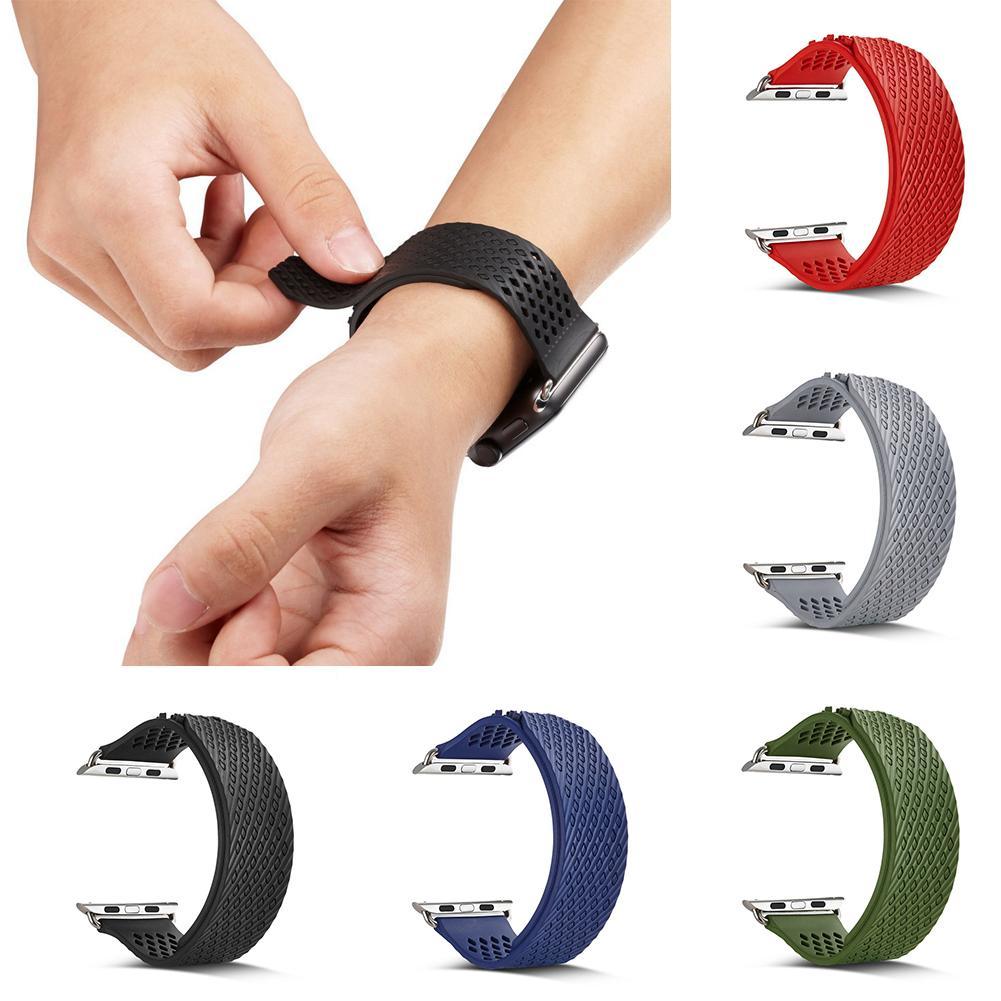 Спортивный ремешок для часов замена ремешок для Apple Watch Series 1 2 3 браслет оптовая продажа