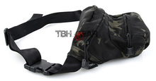 TMC Low Pitched Waist Pack Outdoor Waist Bag Genuine USA made 500D Multicam Black Free shipping