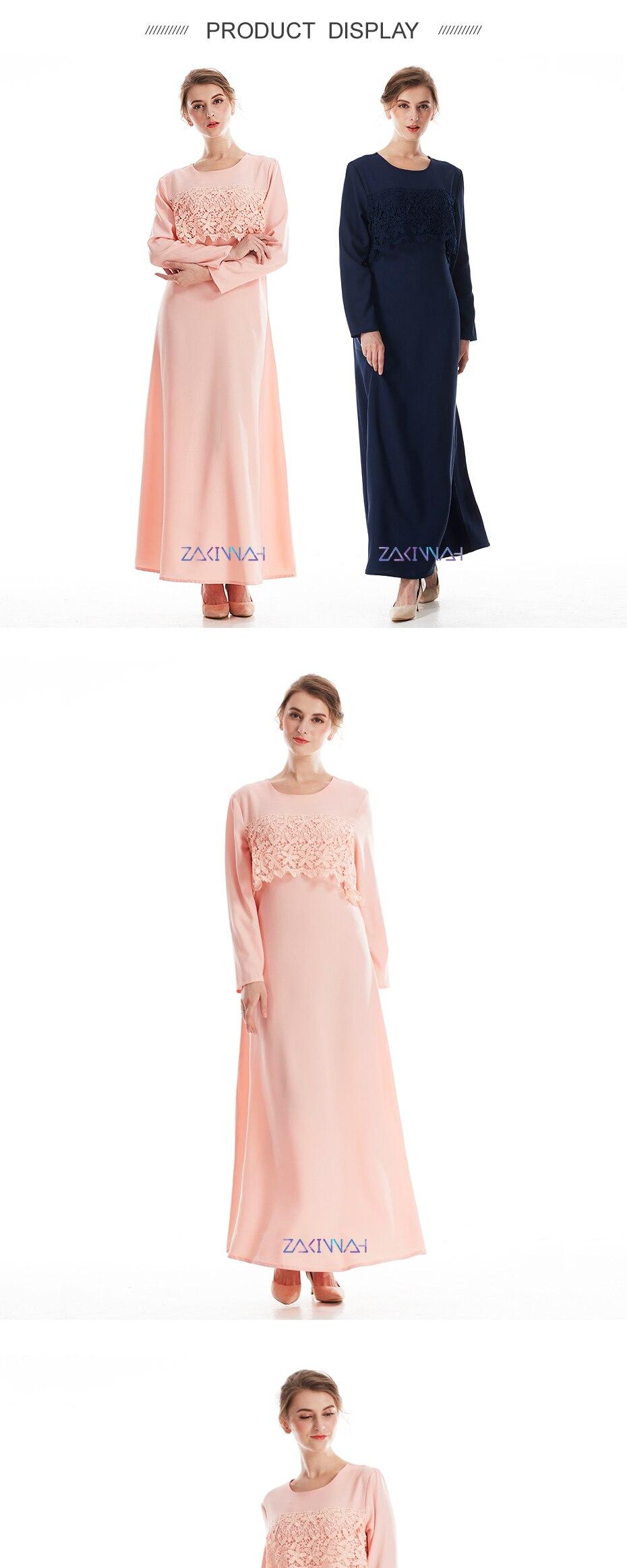 Fashion muslim abaya islamic clothing