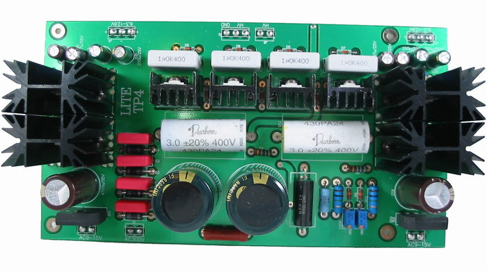 Assembled TP-4 transistor power supply board  Tube preamp Universal/high quality board