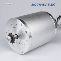 KUNRAY MY1020 48V DC 2000W Electric Brushless Motor 5400RPM Electric Scooter E Bike Electric Bicycle Motorcycle Accessories Part