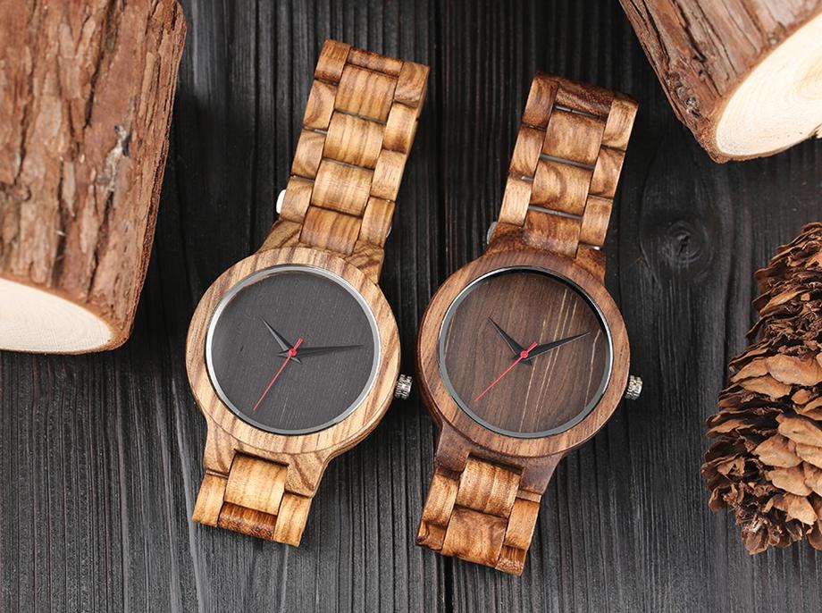 YISUYA Wooden Watches Quartz Analog Men Bamboo Modern Wristwatch Nature Wood Top 2018 Creative Sports Clock saat Xmas Gifts (26)