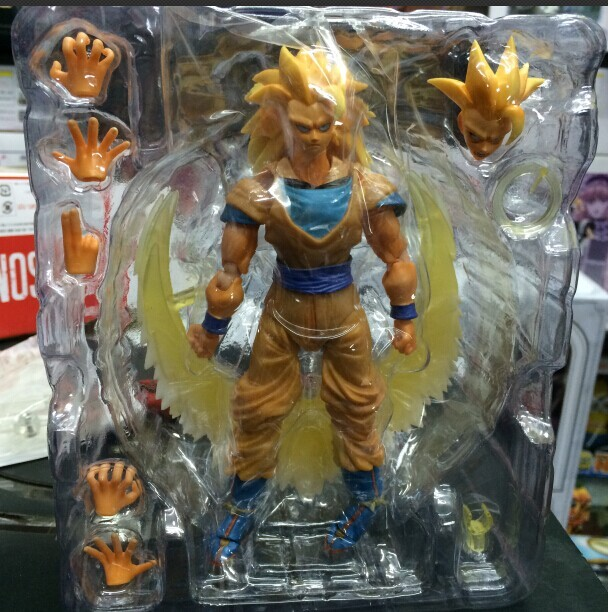 shf dragonball dragon ball z goku super saiyan 3 model marvel action