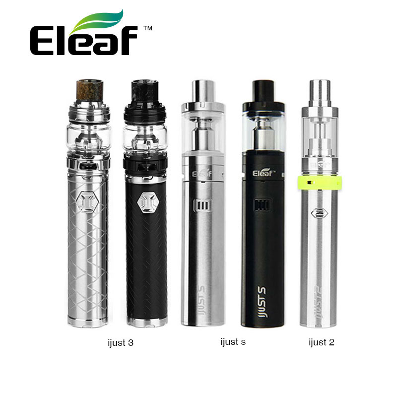 Original Eleaf IJust 3 Kit 3000mah Battery Vs Ijust S 3000mAh Kit Vs IJust 2 2600mAh Kit Electronic Cigarette Vape Starter Kit цена