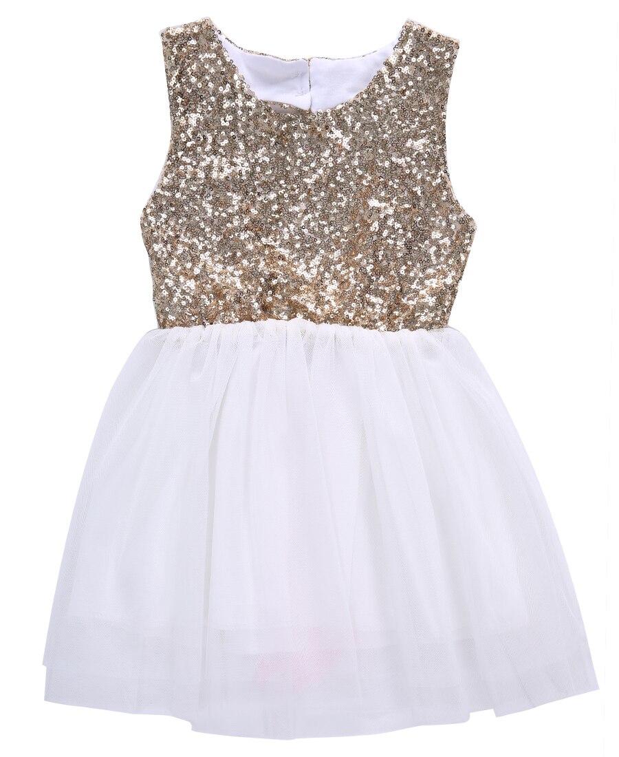Cute Heart Pattern Summer Children Kids Girls Bowknot Layers Sleeveless Dress
