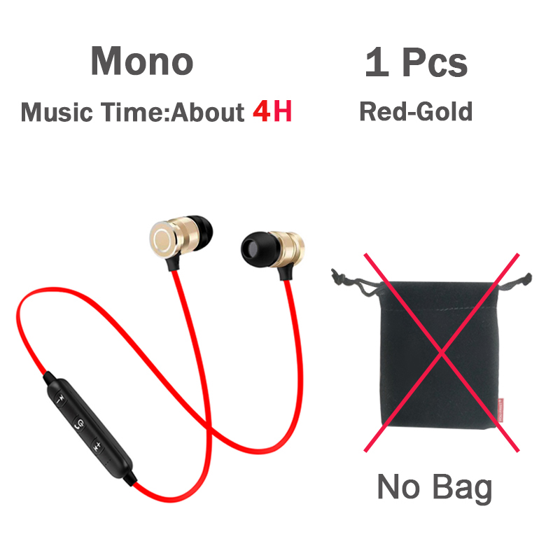 1Pcs Red-Gold