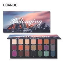 цена Belonging Shimmer Matte Eyeshadow Palette 21 Colors Makeup Eyeshadow Palette maquiagem profissional completa Metallic Cosmetics в интернет-магазинах
