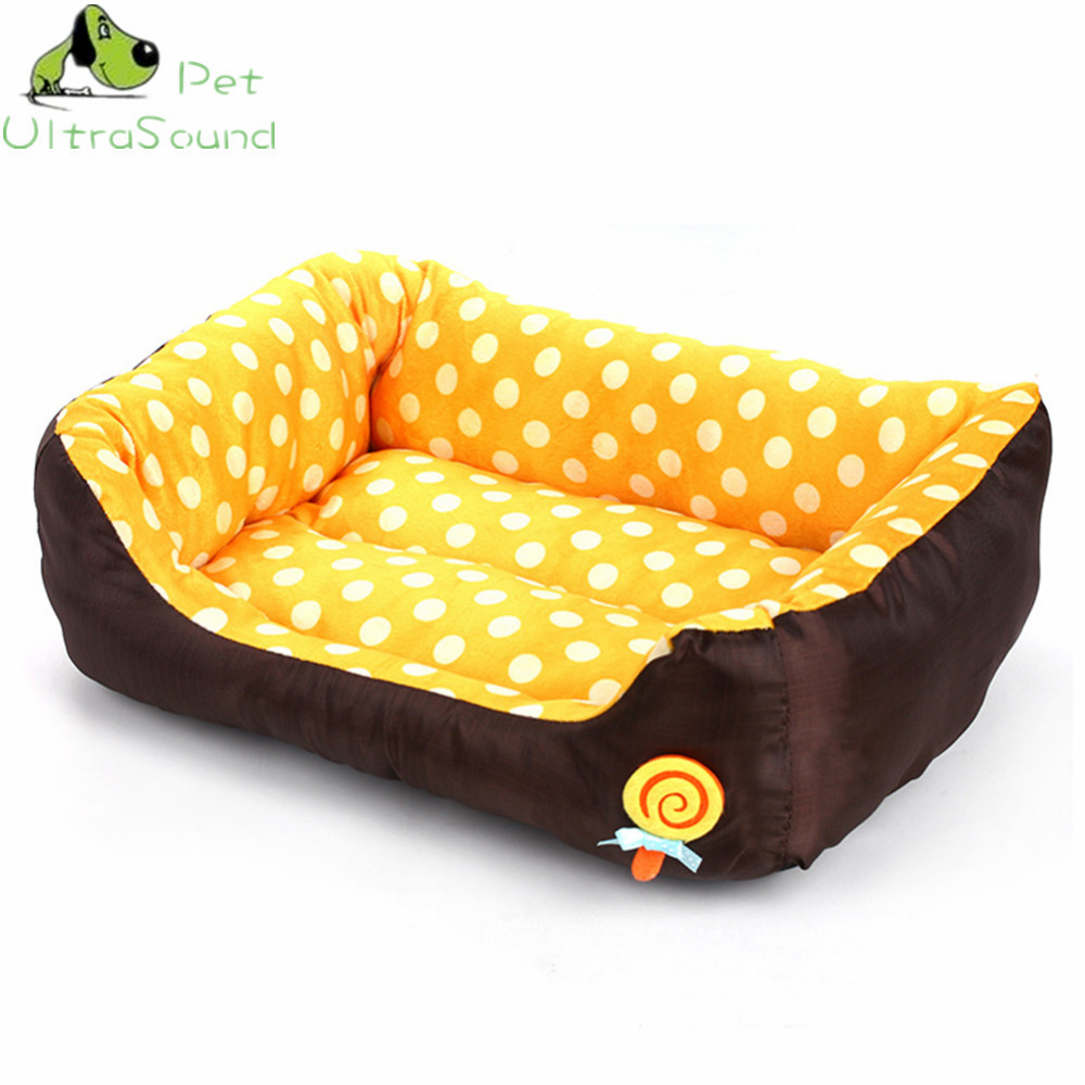 ULTRASOUND PET All Seasons Small Medium Size Extra Pet Dog Bed House Sofa Kennel Soft Dots Fleece Pet Dog Cat Warm Bed S M L 8
