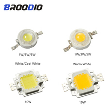 LED Lamp Lights COB Chip LEDs Bulb Lampada Bright Diode 1W 3W 5W 10W High Power Warm Cool White Beam Flood Spotlight For DIY