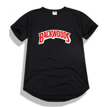 Arc Hem T-shirt 2009 Handsome Fashionable Men And Women Backwoods Casual Short-sleeved Jacket