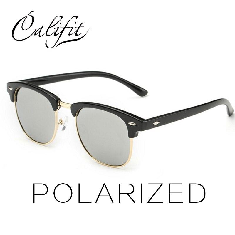 129758c6b CALIFIT 2017 New Classic Polarized Sunglasses Women Mirror Men Glasses  Brand Designer UV400 Shades Female Sunglass Male Oculos-in Sunglasses from  Women's ...