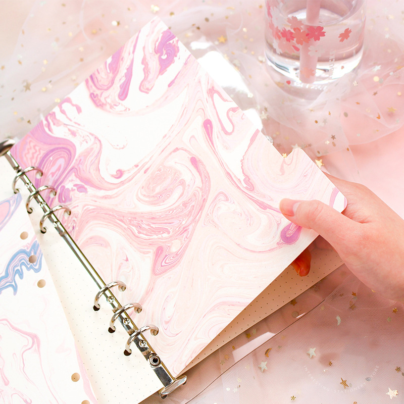 Pink Memories Index Page Dividers For Filofax Spiral Notebook A5A6 Planner Refill Bookmarks Bullet Journal Supplies 5 Sheets