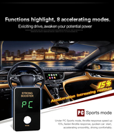 Mini 8 Mode Auto Pedal Commander Wind Strong Booster Electronic Throttle Controller Car Refit For SsangYong