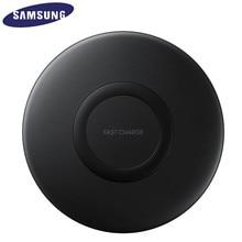 Galaxy s10 s9 s8 plus s7 edge note10 + 9/iphone 8 plus x, 10 w qi pad EP P1100 용 기존 삼성 고속 무선 충전기 스탠드
