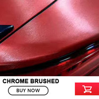 Super Quality Red Matte Chrome Brushed Vinyl Film For Car Wrapping Tensile Brushed Matte Sticker By