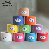 10 Rolls Kinesiology Tex Tape Athletic Tapes Sport Taping Strapping Good Quality Football Exercise Muscle Kinesiotape