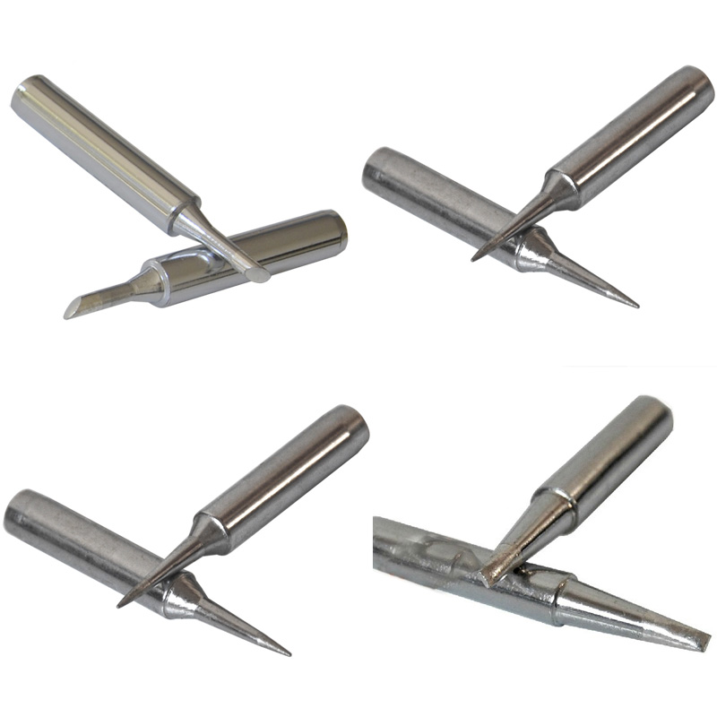 4pc/lot Soldering Iron Tip 900M-T-I 900-M-T-K 900M-T-2.40 Cross-type 900M-T-3C Horseshoe-type for 936 Soldering Station