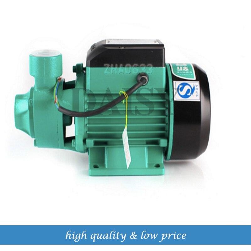 Electric Pressure pump for rainwater QB60 32m head 35 L/min 8m suction household rainwater harvesting ponds in ethiopia