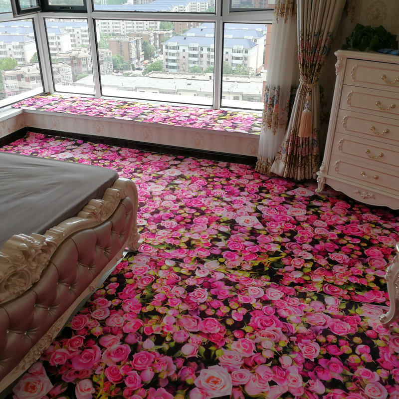3d pink rose carpets for living room romantic warm area 12847 | 3d pink rose carpets for living room romantic warm area rugs for bedroom coffee table floor