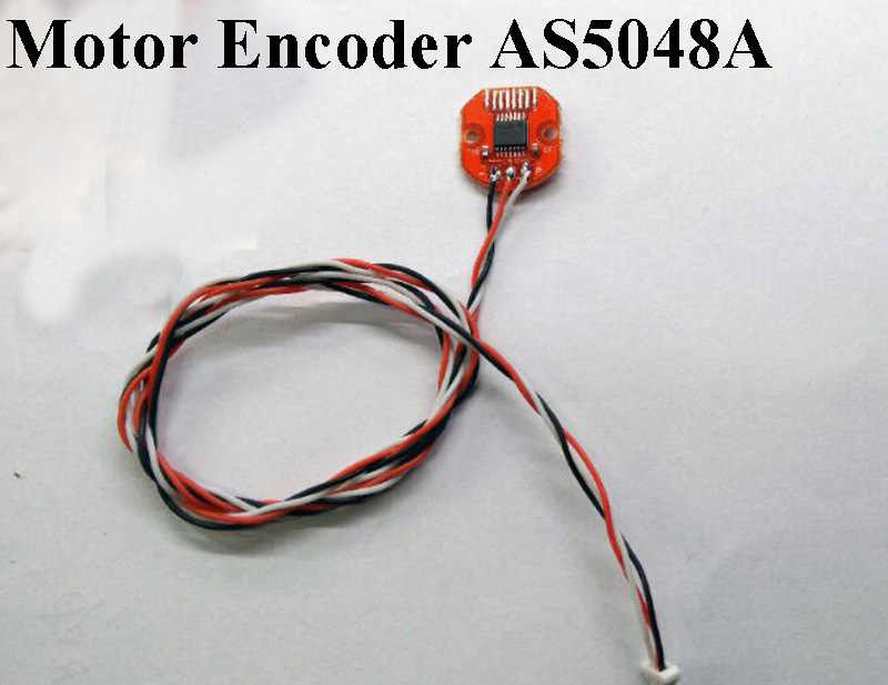 1PC Gimbal Motor Encoder AS5048A PWM/SPI Port 14Bit Bürstenlosen PTZ Magnetische Steuerung Alexmos Basecam Control