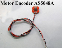 1PC Gimbal Motor Encoder AS5048A PWM/SPI Port 14Bit Brushless PTZ Motor Magnetic Encoder Controller Alexmos Basecam Control