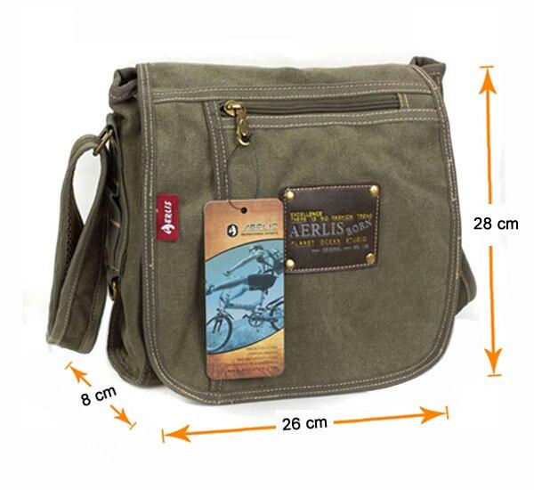 sacolas de lona homem homensageiro Tipo de Ítem : Messenger Bags