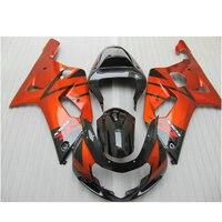 Road/racing Injection fairings for SUZUKI 2001 2002 2003 GSXR600 GSXR750 K1 GSXR 600 01 02 03 GSXR 750 burnt orange fairing set