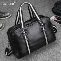 New Designer PU Leather Handbags Messenger Men S Laptop Bag Men Travel School Bags Leisure Bags