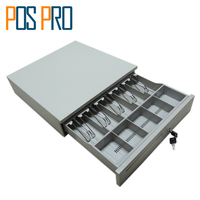 IPCD02 White Color Cash Register Drawer POS Cash Drawer 5 Coins 5 Bills of the cashbox with RJ11 interface