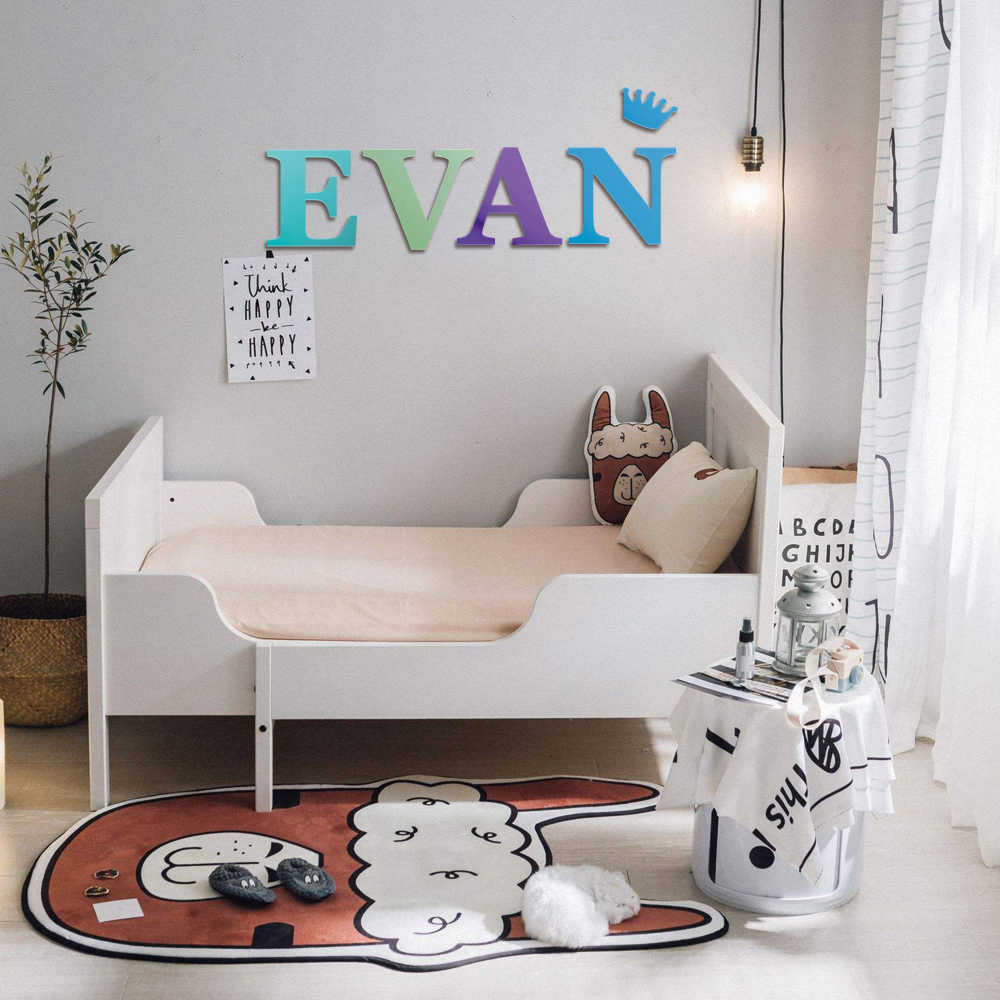 """10"""" 10"""" Large Letter Wall Decor Wooden Letters Big Playroom Letter"""