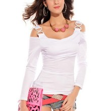 Long Sleeve Straps Solid Casual Shirts
