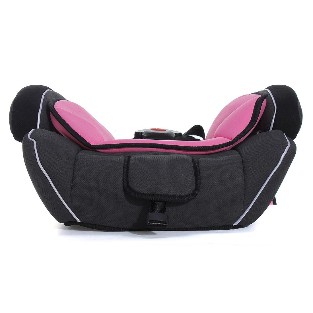 Автомобиль Детские сиденья на взрослый стул Кабриолет Детские автокресла и усилитель для 9-36 кг ребенка светло-розовый черный