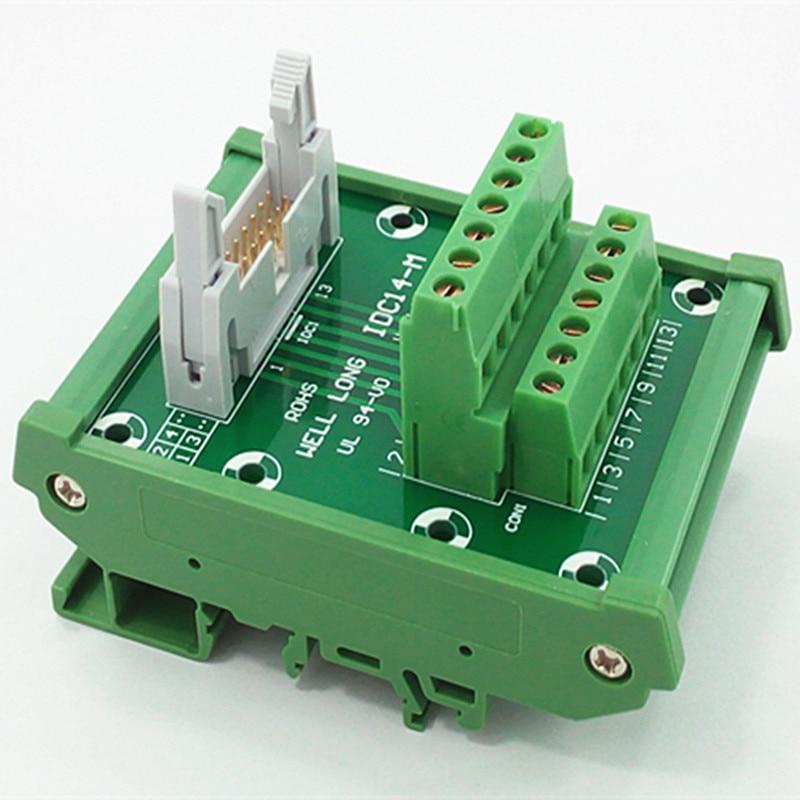цена на IDC-14 DIN Rail Mounted Interface Module.