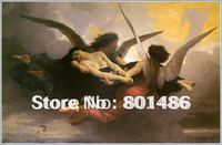 Wholesale oil painting reproduction of A soul brought to heaven ,a painting by Willame Adolphe Bouguereau