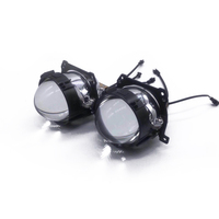 Universal 2.5'' Upgrade Headlight retrofit Car accessories Bi LED projector lens For Car Styling Headlamp Tuning Retrofit