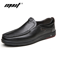 Plus Size 48 Men Genuine Leather Shoes Casual Loafers Comfortable Quality Flats Breathable Moccasins