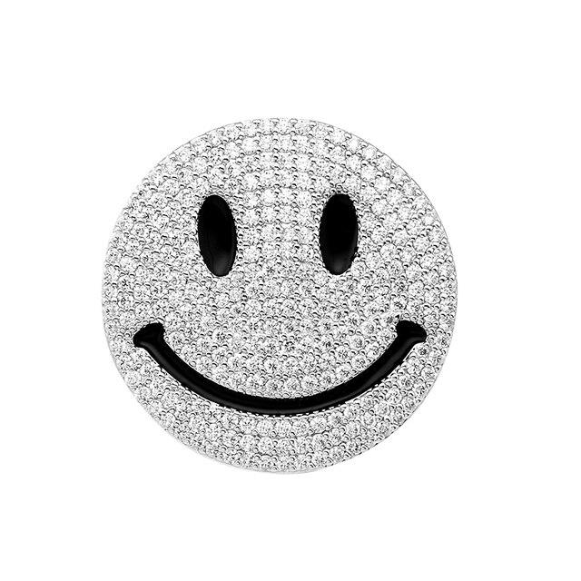 Южная Корея поп мультфильм милой улыбкой улыбка каждый день в борьбе с Брошь Pin