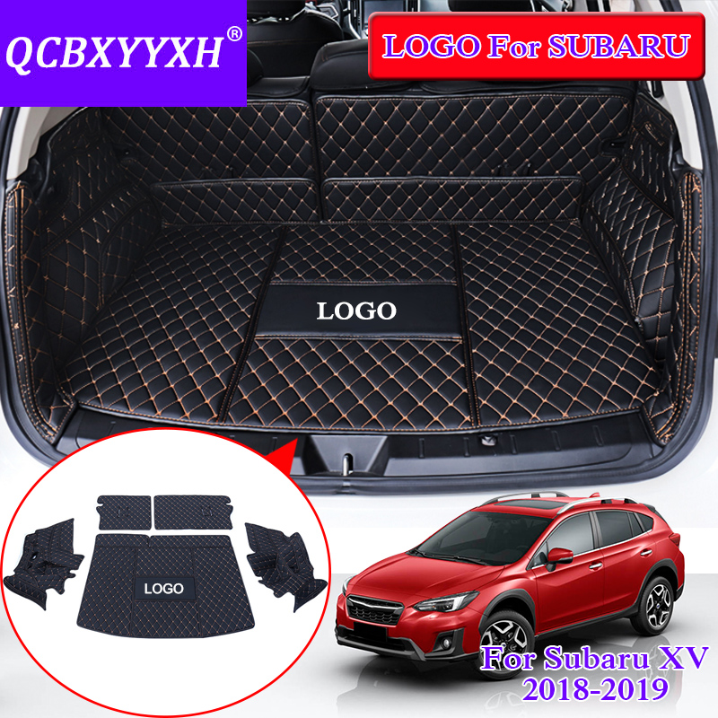 QCBXYYXH For Subaru XV 2018 Car Styling Rear Trunk Cargo Mat Internal Accessories Cargo Liner Decorartion Covers