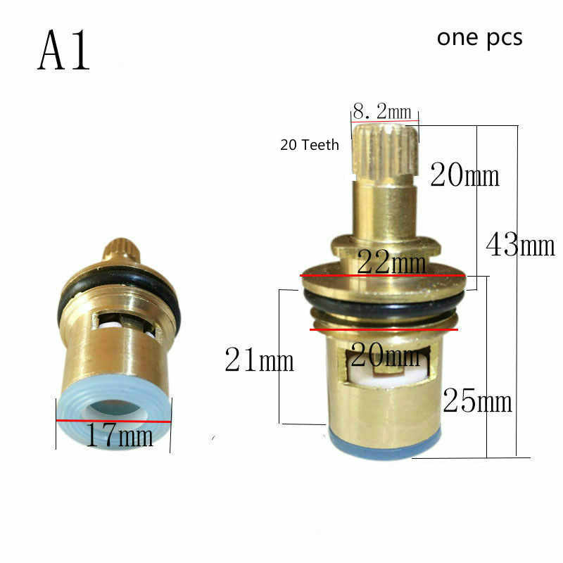 ACAMPTAR Accesorios de grifo para casa Nucleo de valvula de laton cartucho de ceramica