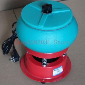Jewlery polishing tumbler vibratory polisher rotary barrel tumbler vibratory tumbler for jewelry jade agate фото