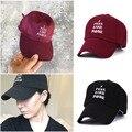 2016 Black letter Yeezus Hat  Yeezy Duck Season 1 100% cotton chapeau Strapback snapback Cap gorras 6 panel hat