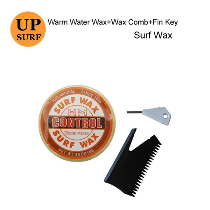 Cera da surf Surf Cera cera ad acqua calda con pettine in cera / - Sport acquatici