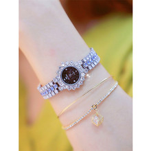 Womens High-grade Quartz Watch Fashion New Hot Ladies Custom Chain Full Rhinestone