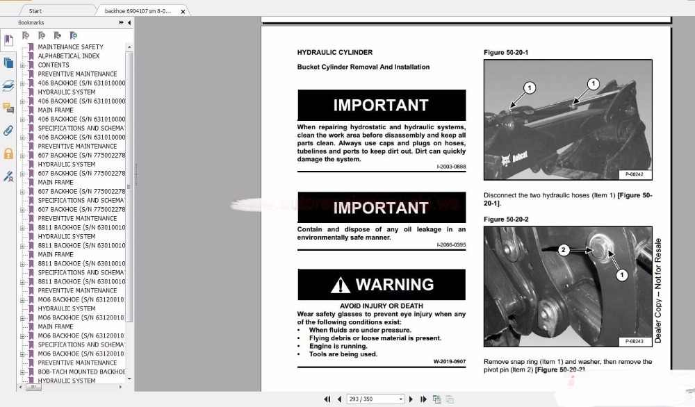 Detail Feedback Questions about Bobcat Service Manuals Full Set DVD