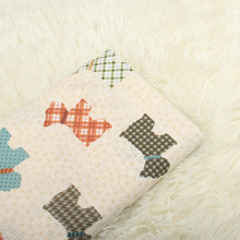 100% Cotton Plain Fabric Printed Skin-Friendly Beathable Pure Sewing Material For Patchwork Baby