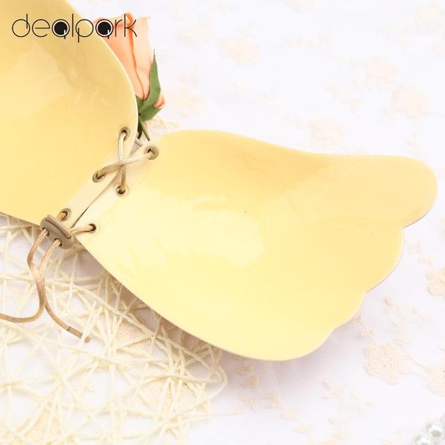 Invisible Sexy Push Up Bra Front Closure Self-Adhesive Silicone Seamless Women Bra Strapless Soutien Gorge Sujetador A-D