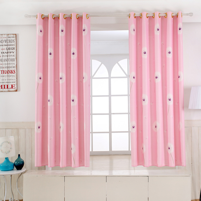 Single Panel Modern Window Curtains for Kitchen/ Living Room ...