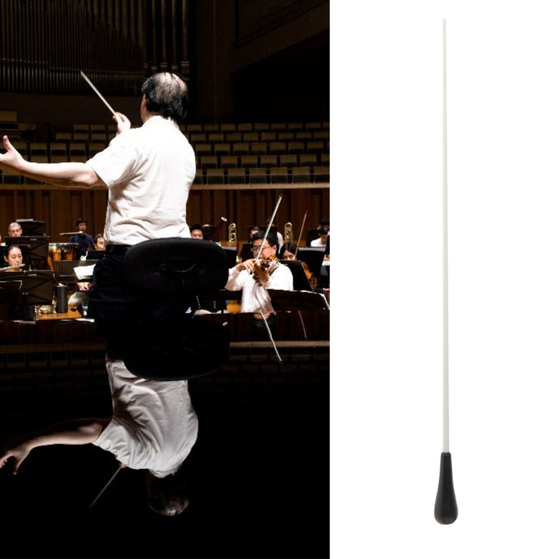 Concert Baton Rhythm Director Band Conductor Resin Baton Musical Instrument 38.5cm