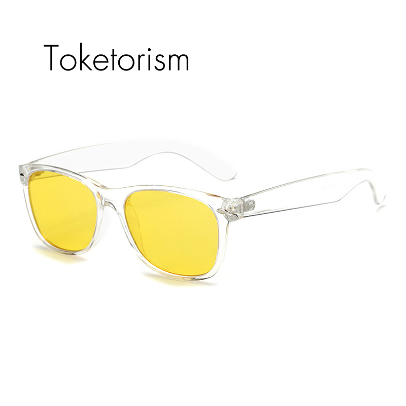Toketorism Transparent frame Classic style 100% UV400 Radiation-resistant Glasses Computer Gaming Glasses 0412